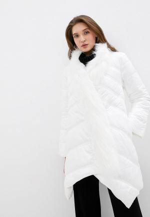 Куртка утепленная Love Republic. Цвет: белый