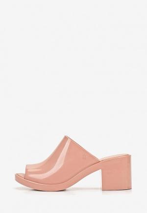 Сабо Melissa. Цвет: розовый