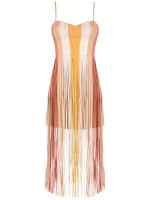 Fringe dress Nk. Цвет: нейтральные цвета