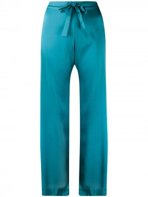 Пижамные брюки Sophia Gilda & Pearl. Цвет: синий