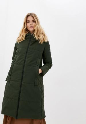 Куртка утепленная TrendyAngel. Цвет: хаки