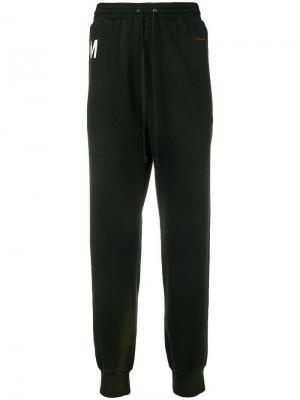 Классические спортивные брюки Damir Doma. Цвет: черный