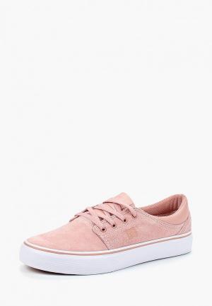 Кеды DC Shoes. Цвет: розовый