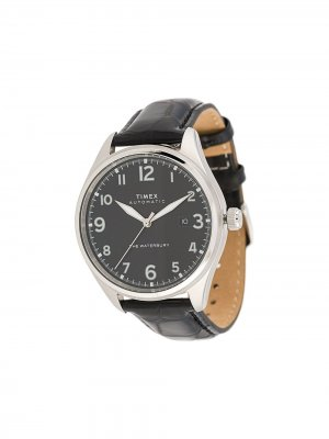 Наручные часы Waterbury Traditional Automatic 42 мм TIMEX. Цвет: черный