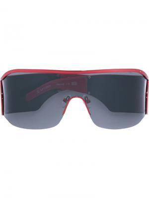 Солнцезащитные очки Gianfranco Ferré Pre-Owned. Цвет: красный
