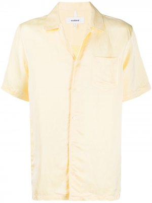Рубашка Ryan с короткими рукавами Soulland. Цвет: желтый