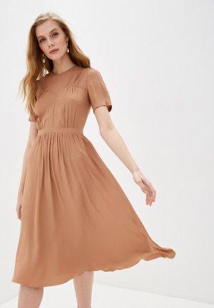 Платье N21. Цвет: бежевый