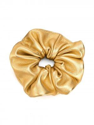 Резинка для волос Manokhi. Цвет: золотистый