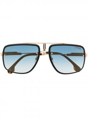 Солнцезащитные очки Glory II Carrera. Цвет: черный