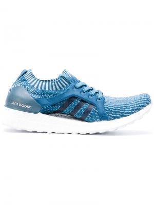 Кроссовки Ultraboost x Parley adidas. Цвет: синий