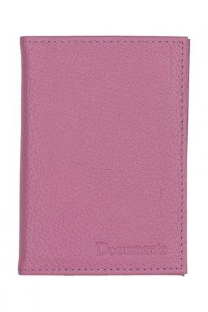 Обложка для паспорта KIN. Цвет: сиреневый