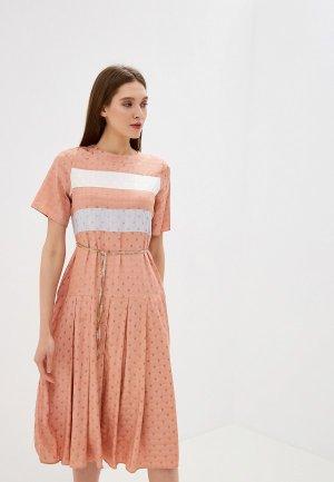 Платье Sister Jane. Цвет: коралловый