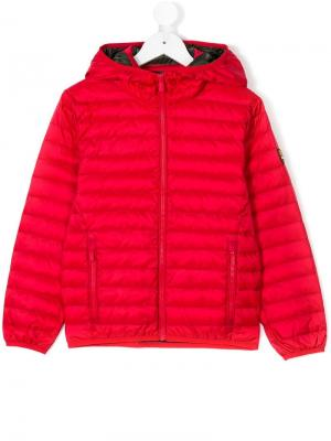 Hooded padded jacket Ciesse Piumini Junior. Цвет: красный