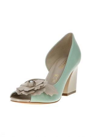 Туфли открытые INDIANA. Цвет: wan green ma (с зел)