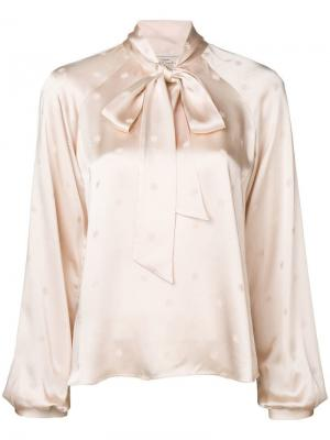 Betty pussy bow blouse Temperley London. Цвет: розовый