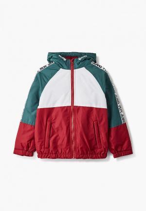 Куртка утепленная Pepe Jeans. Цвет: разноцветный