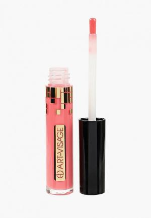 Блеск для губ Art-Visage. Цвет: розовый