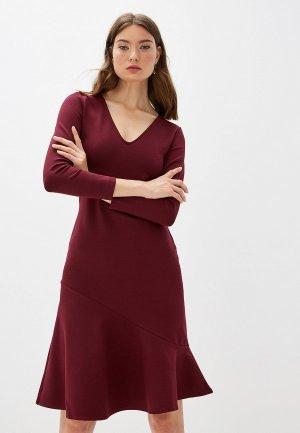Платье French Connection. Цвет: бордовый