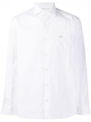 Рубашка с длинными рукавами Seventy. Цвет: белый