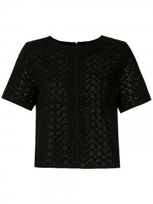 Блузка Corações Eva. Цвет: черный