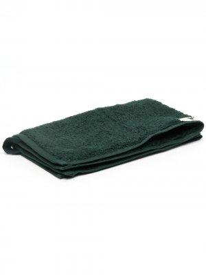 Полотенце из органического хлопка TEKLA. Цвет: зеленый