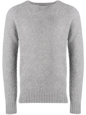 Crew neck sweatshirt Howlin'. Цвет: серый