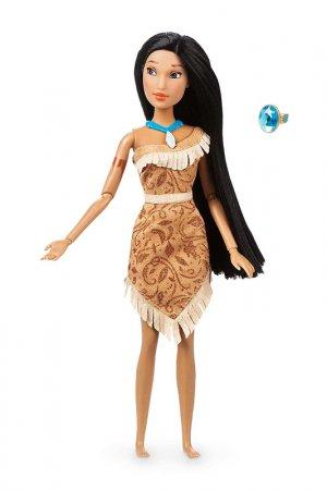 Кукла Покахонтас с кольцом DISNEY PRINCESS. Цвет: коричневый
