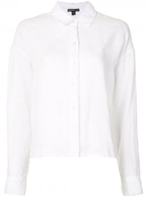 Рубашка свободного кроя James Perse. Цвет: белый