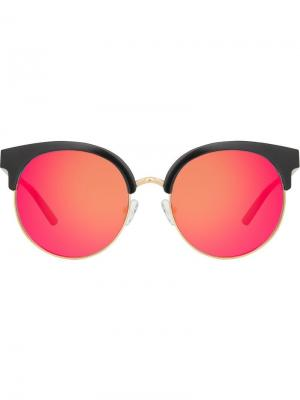 Round frame sunglasses Matthew Williamson. Цвет: черный