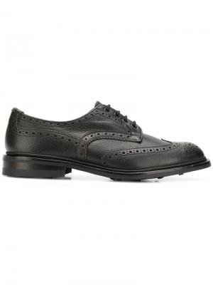 Ботинки-дерби Bourton Trickers. Цвет: черный