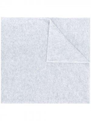 Шарф Vittoria тонкой вязки Liska. Цвет: серый