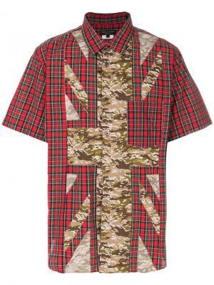 Рубашка с камуфляжным принтом Comme Des Garçons Pre-Owned. Цвет: красный