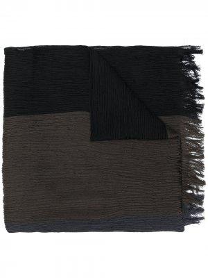Плиссированный платок Issey Miyake. Цвет: черный