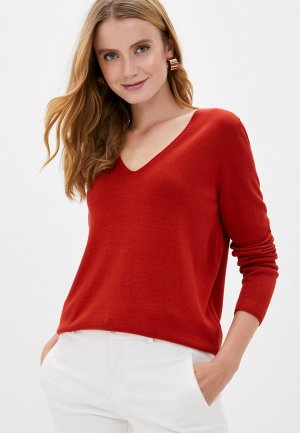 Пуловер s.Oliver. Цвет: оранжевый