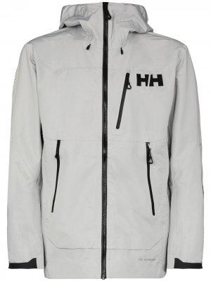 Куртка Odin Mountain Infinity с капюшоном Helly Hansen. Цвет: серый
