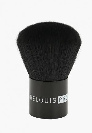 Кисть для лица Relouis. Цвет: черный