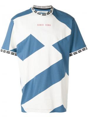 Футболка  x LOTTO Teijo Damir Doma. Цвет: синий