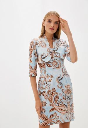 Платье Camomilla Italia. Цвет: голубой