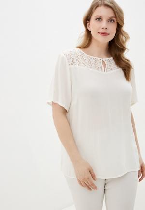 Блуза Junarose. Цвет: белый