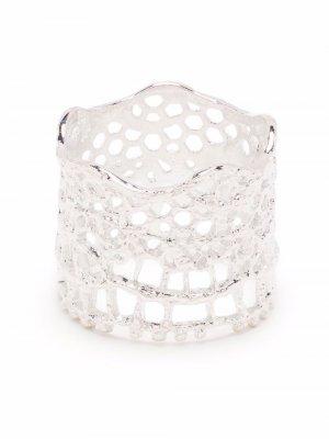 Широкое кольцо Aurelie Bidermann. Цвет: серебристый