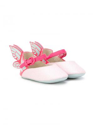 Пинетки Chiara Sophia Webster Mini. Цвет: розовый