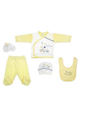 Подарочный набор Bebitof Baby. Цвет: желтый