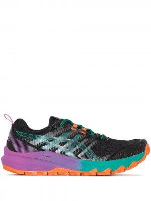 Беговые кроссовки GEL-Trabuco 9 ASICS. Цвет: черный