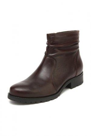 Ботинки Tervolina. Цвет: бордовый