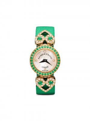 Наручные часы Miss Victoria 18 мм Backes & Strauss. Цвет: белый