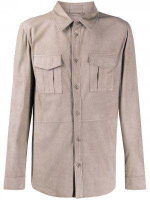 Рубашка с длинными рукавами Desa 1972. Цвет: коричневый