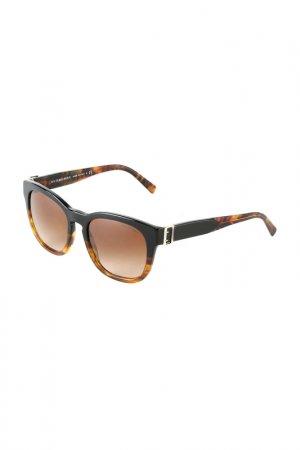 Очки солнцезащитные BURBERRY. Цвет: black