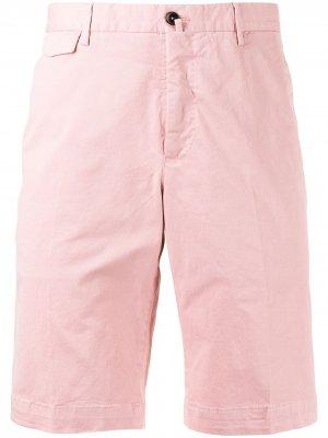 Шорты-бермуды средней посадки Pt01. Цвет: розовый