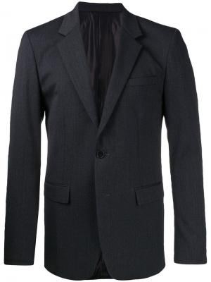 Single-breasted suit jacket Wooyoungmi. Цвет: серый