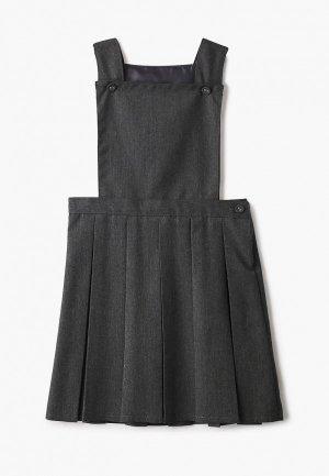 Сарафан Marks & Spencer. Цвет: серый